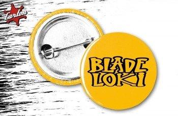 kapsel BLADE LOKI - LOGO żółty