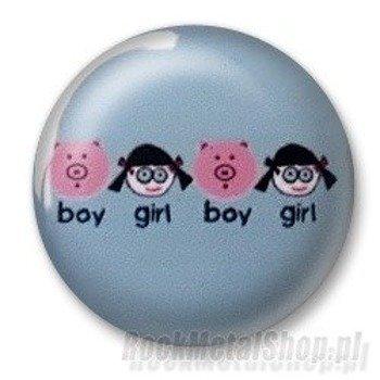 kapsel BOY vs GIRL Ø25mm