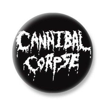 kapsel CANNIBAL CORPSE - OLD LOGO WHITE