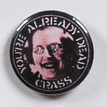 kapsel CRASS - YOUR`RE ALREADY DEAD