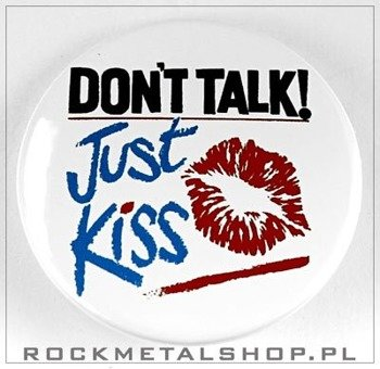 kapsel DONT TALK JUST KISS  średni