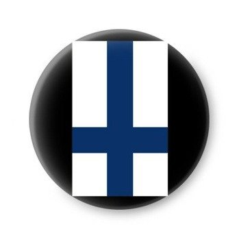 kapsel FINLAND INVERTED CROSS