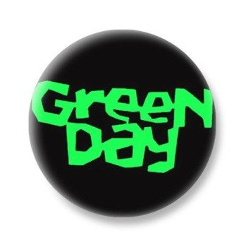 kapsel GREEN DAY - GREEN LOGO