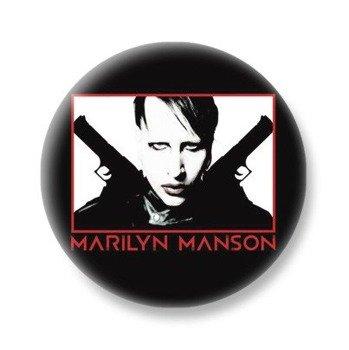 kapsel MARILYN MANSON - PISTOLS