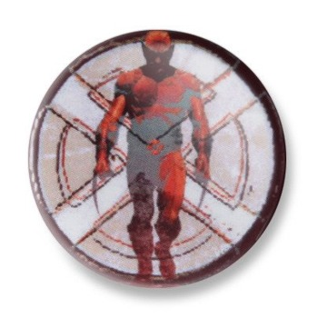kapsel MARVEL EXTREME - RED WOLVERINE Ø25mm
