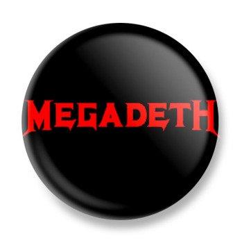 kapsel MEGADETH - LOGO