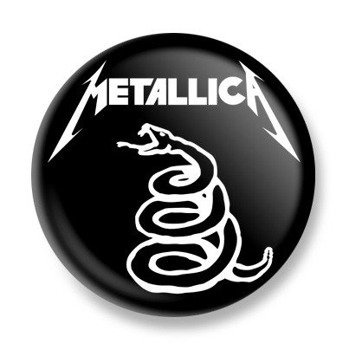 kapsel METALLICA - BLACK ALBUM SNAKE