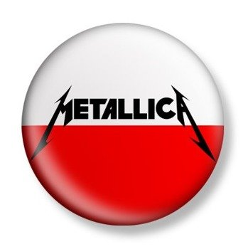 kapsel METALLICA - LOGO 2 AND JUSTICE POLAND