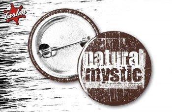 kapsel NATURAL MYSTIC - LOGO brązowy