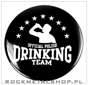 kapsel OFFICIAL POLISH DRINKING TEAM średni