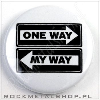 kapsel ONE WAY MY WAY