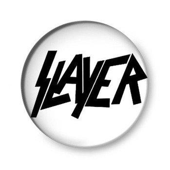 kapsel SLAYER - LOGO biały