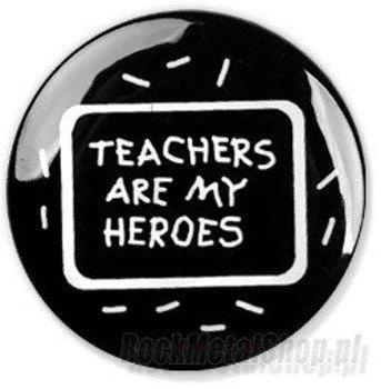 kapsel TEACHERS ARE MY HEROES średni