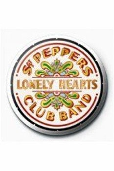 kapsel THE BEATLES - SGT. PEPPER'S LOGO