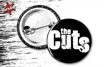 kapsel THE CUTS - LOGO czarno-biały
