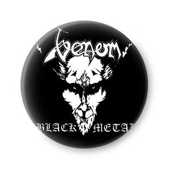 kapsel VENOM - BLACK METAL