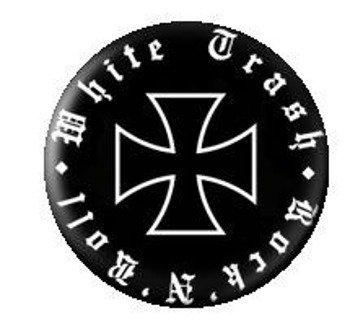 kapsel WHITE TRASH KRZYŻ