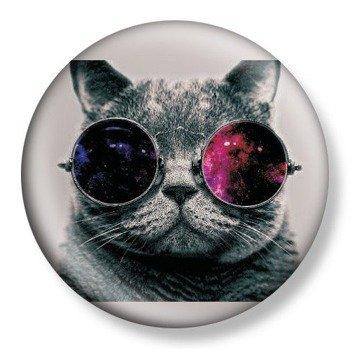 kapsel średni CAT WITH GLASSES Ø38mm
