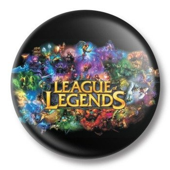 kapsel średni LEAGUE LEGENDS Ø38mm