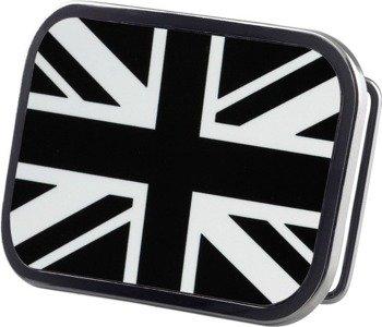 klamra do pasa BRITISH FLAG BLACK/WHITE