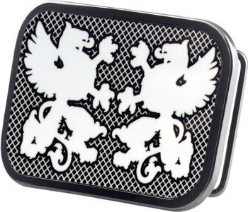 klamra do pasa TWO GRIFFINS BLACK/WHITE