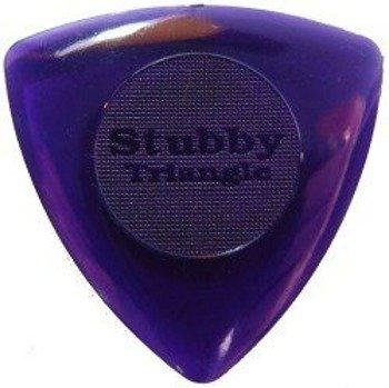 kostka gitarowa DUNLOP - BIG STUBBY TRIANGLE 3mm (dk.purple)