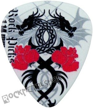 kostka gitarowa ROCK PICK - DRAGONS