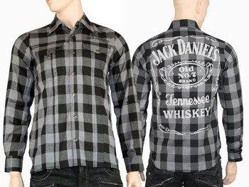 koszula JACK DANIELS (BLACK/GREY)