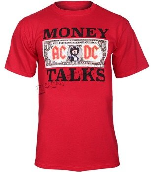 koszulka AC/DC - MONEY TALKS RED