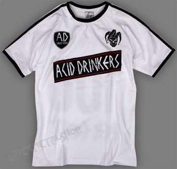 koszulka ACID DRINKERS - 100 PERCENT white