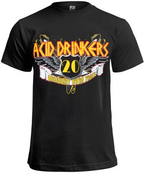 koszulka ACID DRINKERS - 20 ABSOLUTELY WIRED YEARS