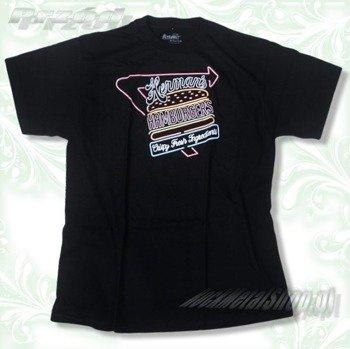 "koszulka ALTAMONT -  BURGERS (BLACK) 09"""