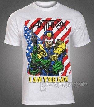 koszulka ANTHRAX - I AM THE LAW