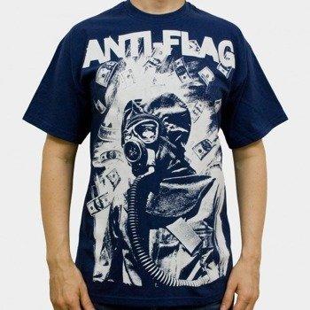 koszulka ANTI FLAG - GASMASK (NAVY)