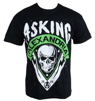 koszulka ASKING ALEXANDRIA - SKULL SHIELD GREEN