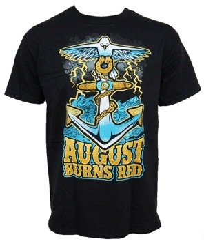 koszulka AUGUST BURNS RED - ANCHOR