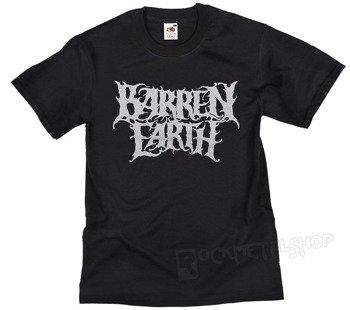 koszulka BARREN EARTH - SILVER LOGO