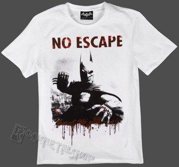 koszulka BATMAN ARKHAM CITY - NO ESCAPE biała