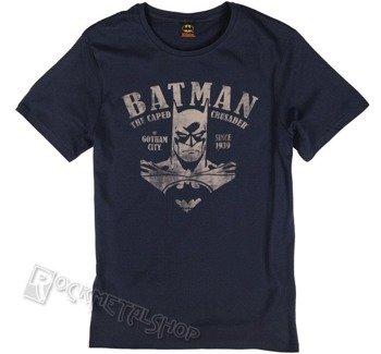 koszulka BATMAN - VINTAGE VICTORY navy
