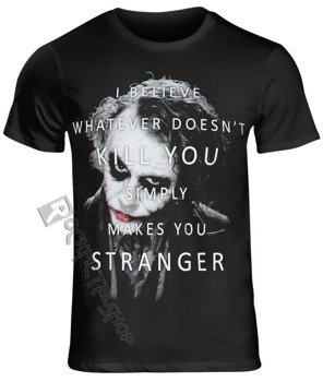 koszulka BATMAN - WHATEVER DOESN'T KILL YOU czarna