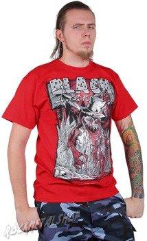 koszulka BLACK ICON - ICE MAN czerwona (MICON049RED)