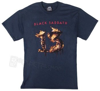 koszulka BLACK SABBATH - 13 NEW ALBUM navy