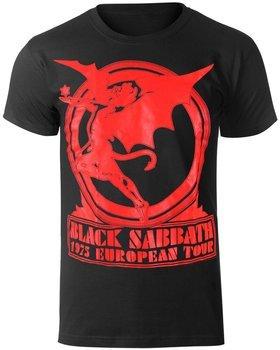 koszulka BLACK SABBATH - EUROPE 75