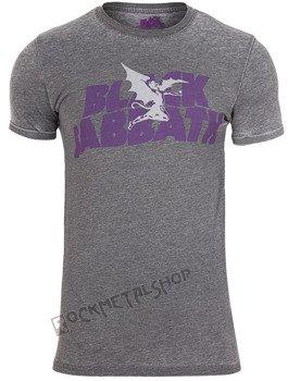 koszulka BLACK SABBATH - LOGO AND DAEMON BURNOUT