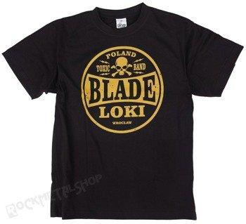 koszulka BLADE LOKI - TOXIC BAND yellow