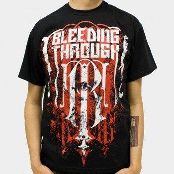koszulka BLEEDING THROUGH - EMBLEM (BLACK)