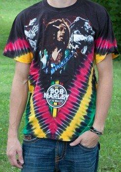 koszulka BOB MARLEY -  PERFORM  barwiona