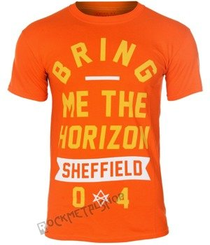 koszulka BRING ME THE HORIZON - BIG TEXT ORANGE