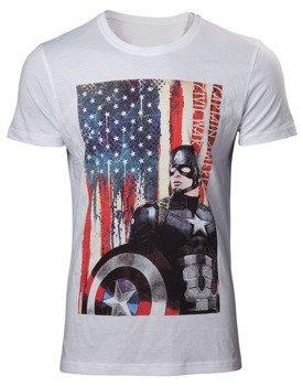 koszulka CAPTAIN AMERICA CIVIL WAR - AMERICAN FLAG