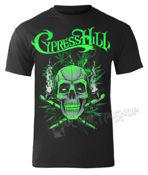 koszulka CYPRESS HILL - BLACK SKULL 'N PIPES